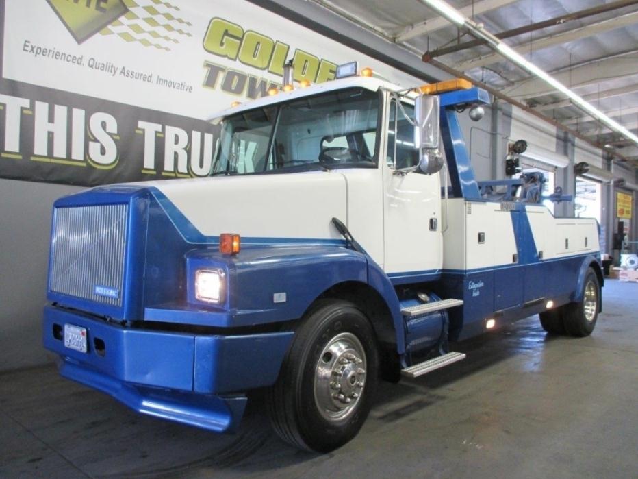 1994 White Gmc Wg64t Wrecker Tow Truck