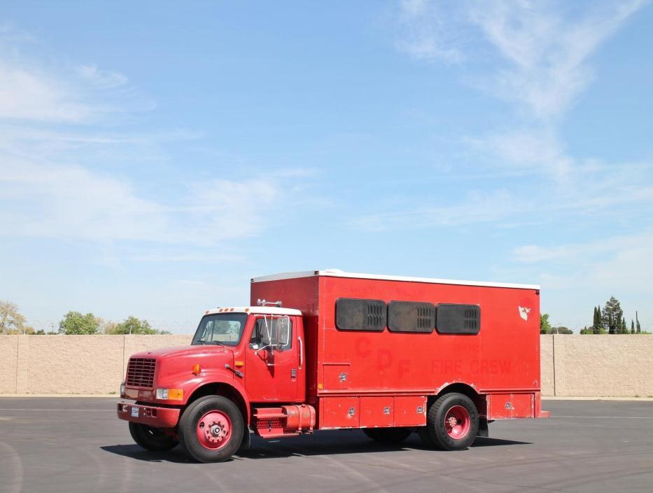 1992 International 4900 Fire Truck