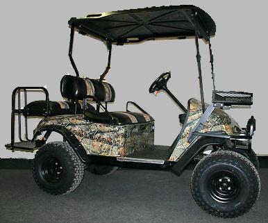 2012 Ez-Go Custom 36V Hunting Electric Golf Cart