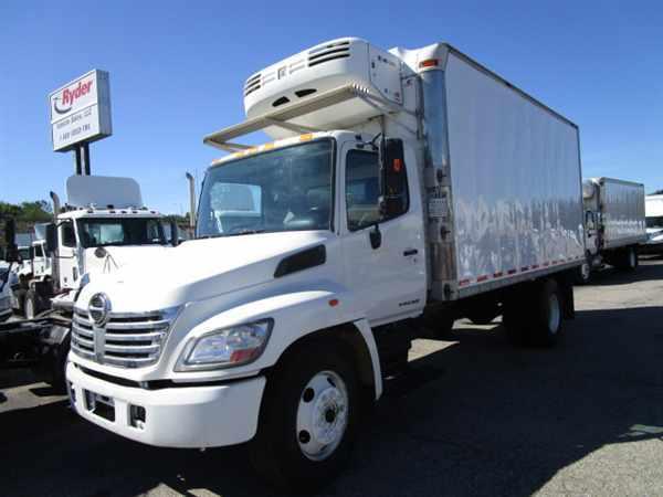 2007 Hino Hino 268  Refrigerated Truck