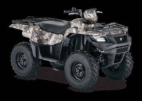 2017 Suzuki Kingquad 500axi Power Steering Camo