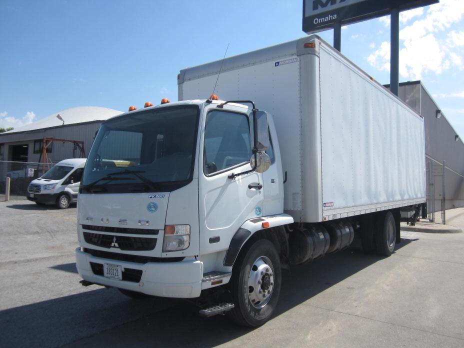 2010 Mitsubishi Fuso Fk62ft  Box Truck - Straight Truck