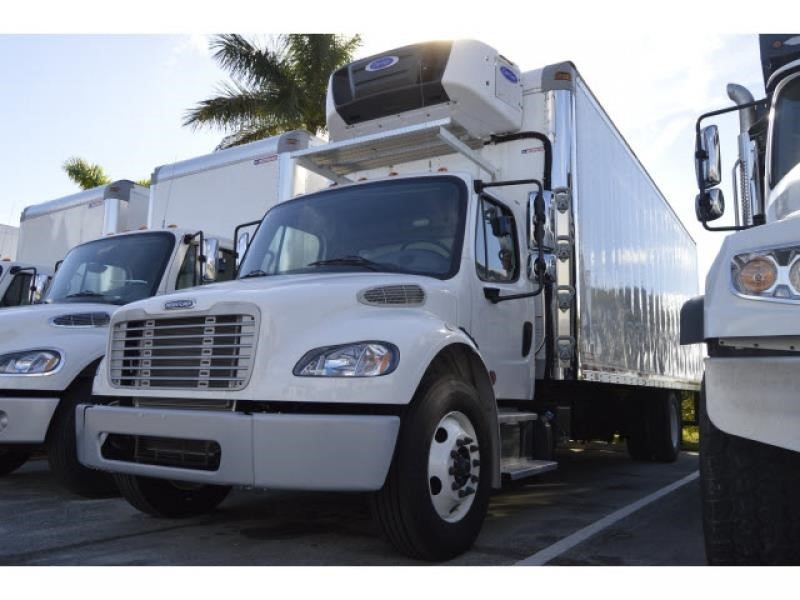 2016 Freightliner Business Class M2 106  Refrigerated Truck