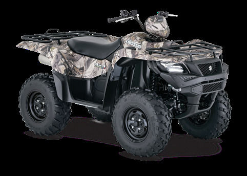 2016 Suzuki Kingquad 500 Axi Power Steering Camo