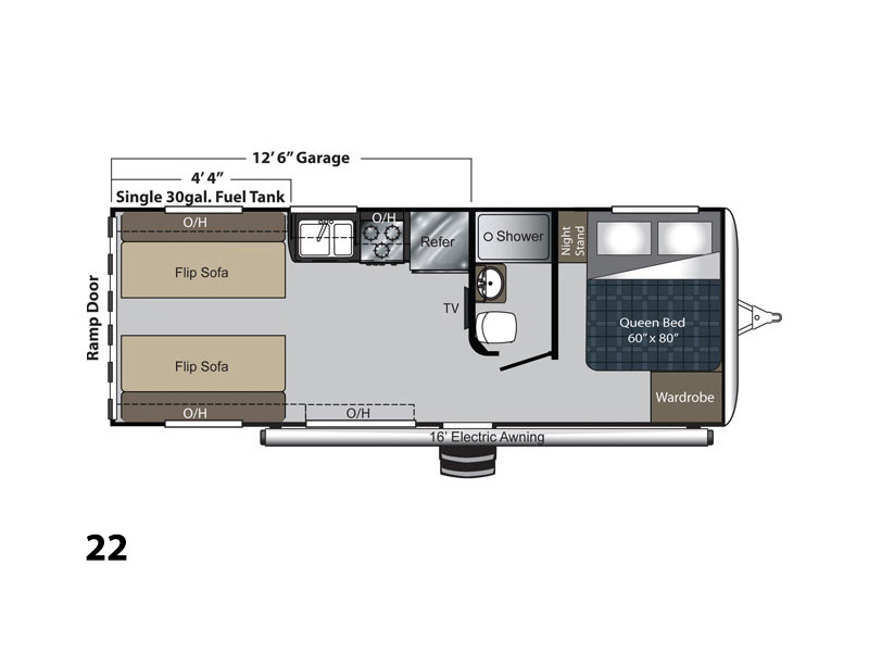 Keystone Rv Carbon 22 rvs for sale in Ohio