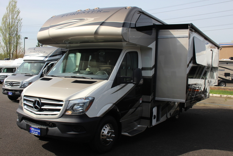 2016 Forest River Forester MBS Mercedes Benz Chassis 2401W