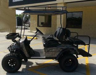 2012 Ez-Go 48v Monster Custom Electric Hunting Golf Cart