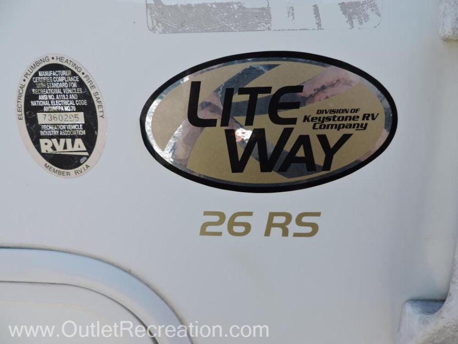 2002 Keystone Outback 26RS