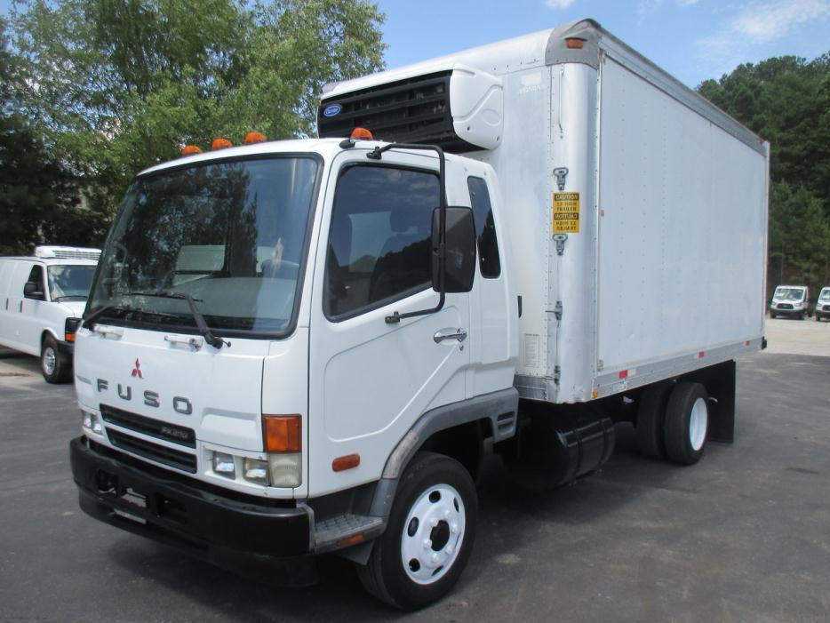 2005 Mitsubishi Fuso Fk200 Dry Van