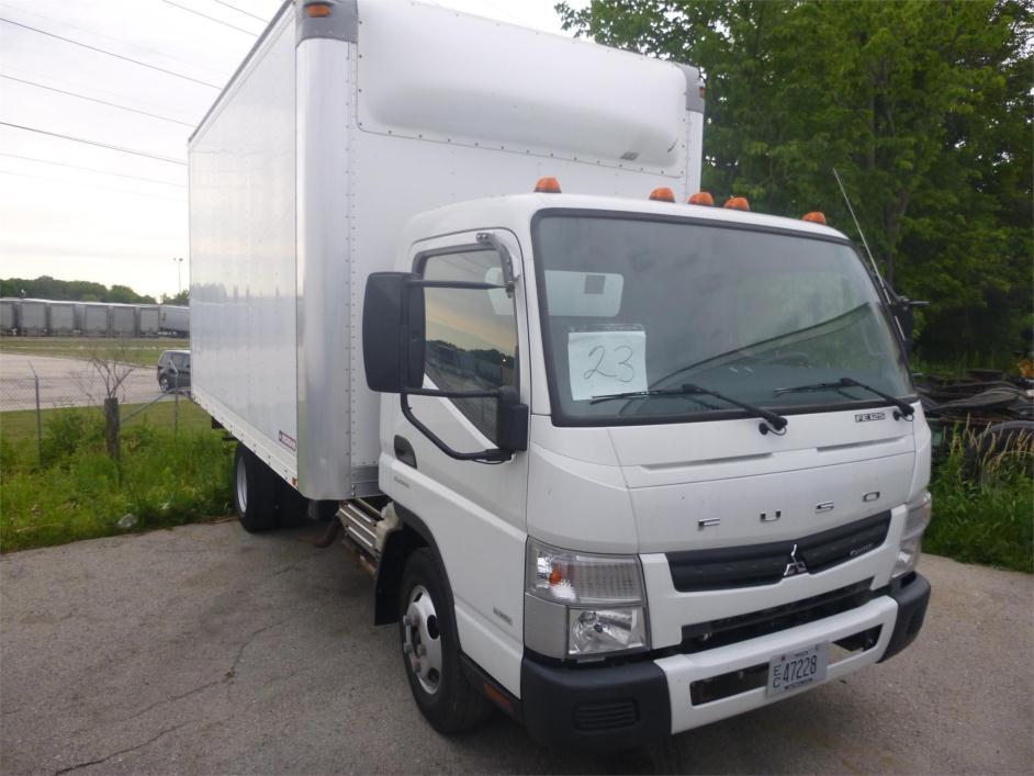 2013 Mitsubishi Fuso Fe125 Cargo Van