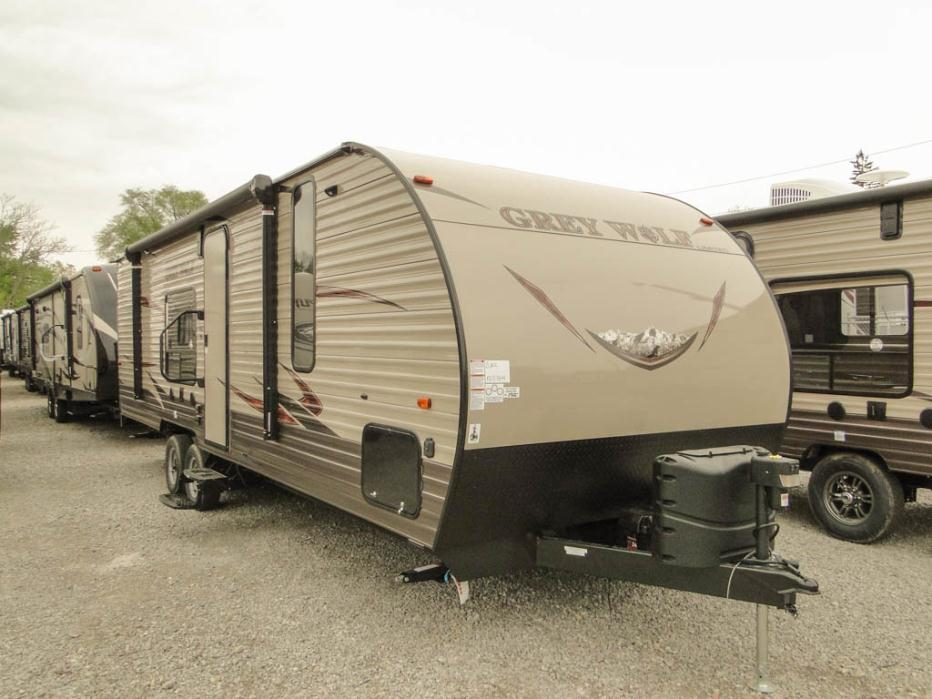 2016 Forest River Grey Wolf 26rr Toy Hauler rvs for sale ...
