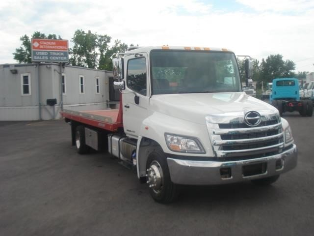 2012 Hino 258lp  Rollback Tow Truck
