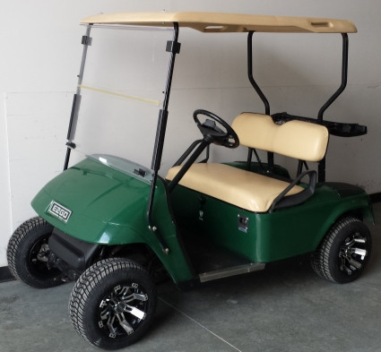 2012 Ez-Go Electric Golf Cart w/ Custom Rims & Tires