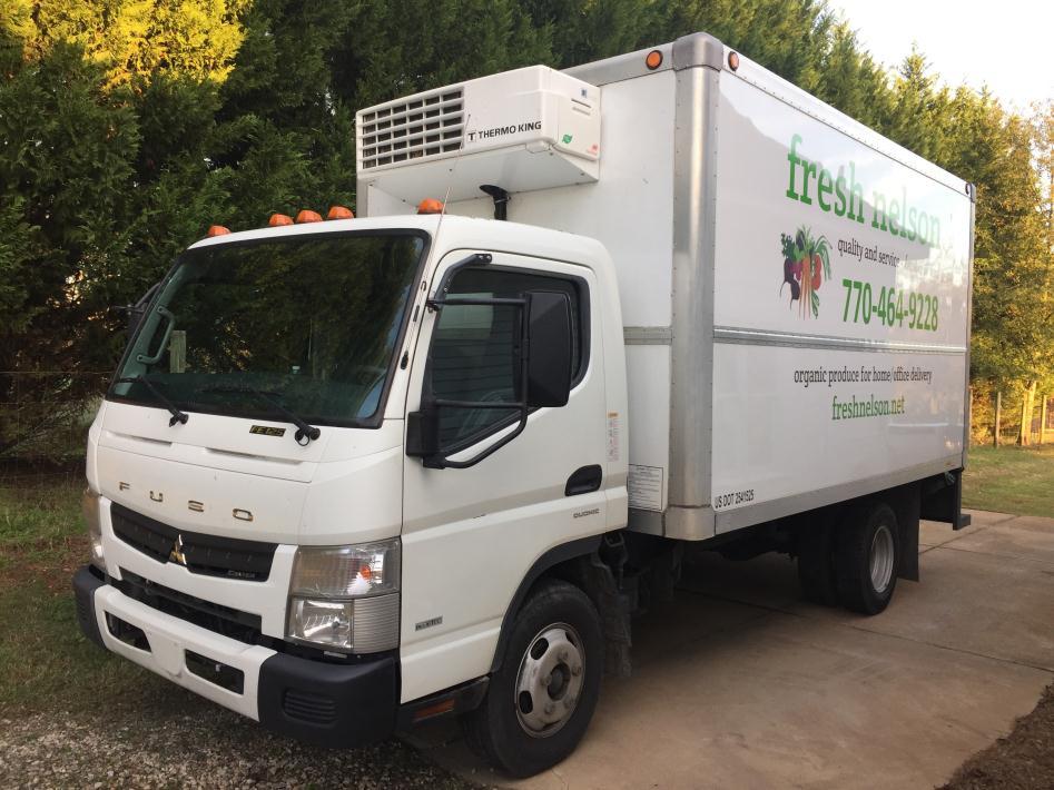 2012 Mitsubishi Fuso Fe125 Refrigerated Truck
