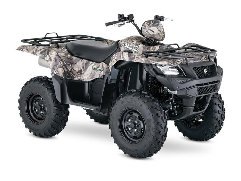 2016 Suzuki KINGQUAD 500AXI POWER STEERING CAMO