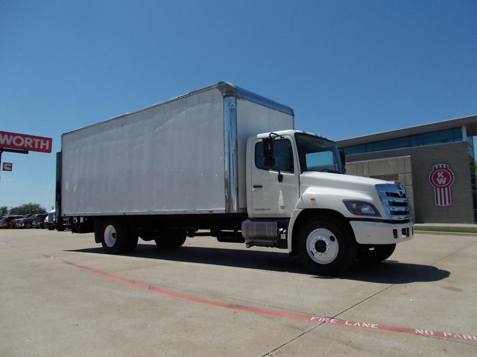 2015 Hino 268 Moving Van