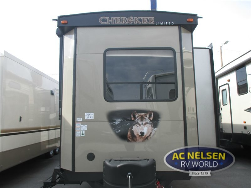 2017 Forest River Rv Cherokee Destination Trailers 39RL