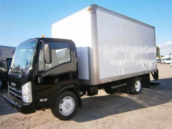 2010 Isuzu Nrr  Box Truck - Straight Truck