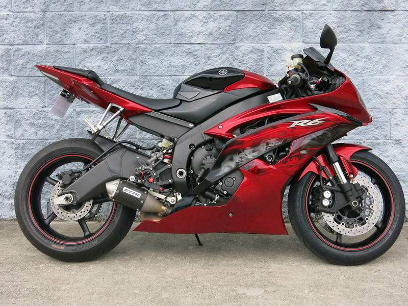 Yamaha r6 red raven motorcycles for sale for Yamaha r6 600 for sale