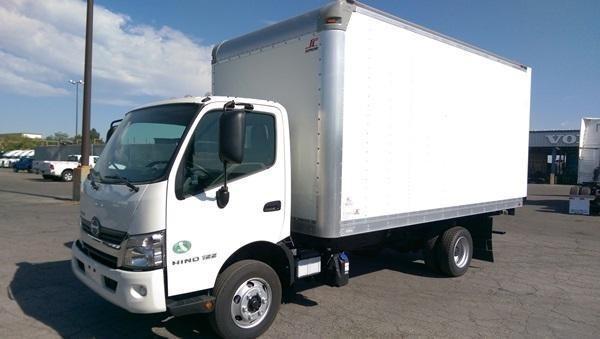 2016 Hino 155 Box Truck - Straight Truck