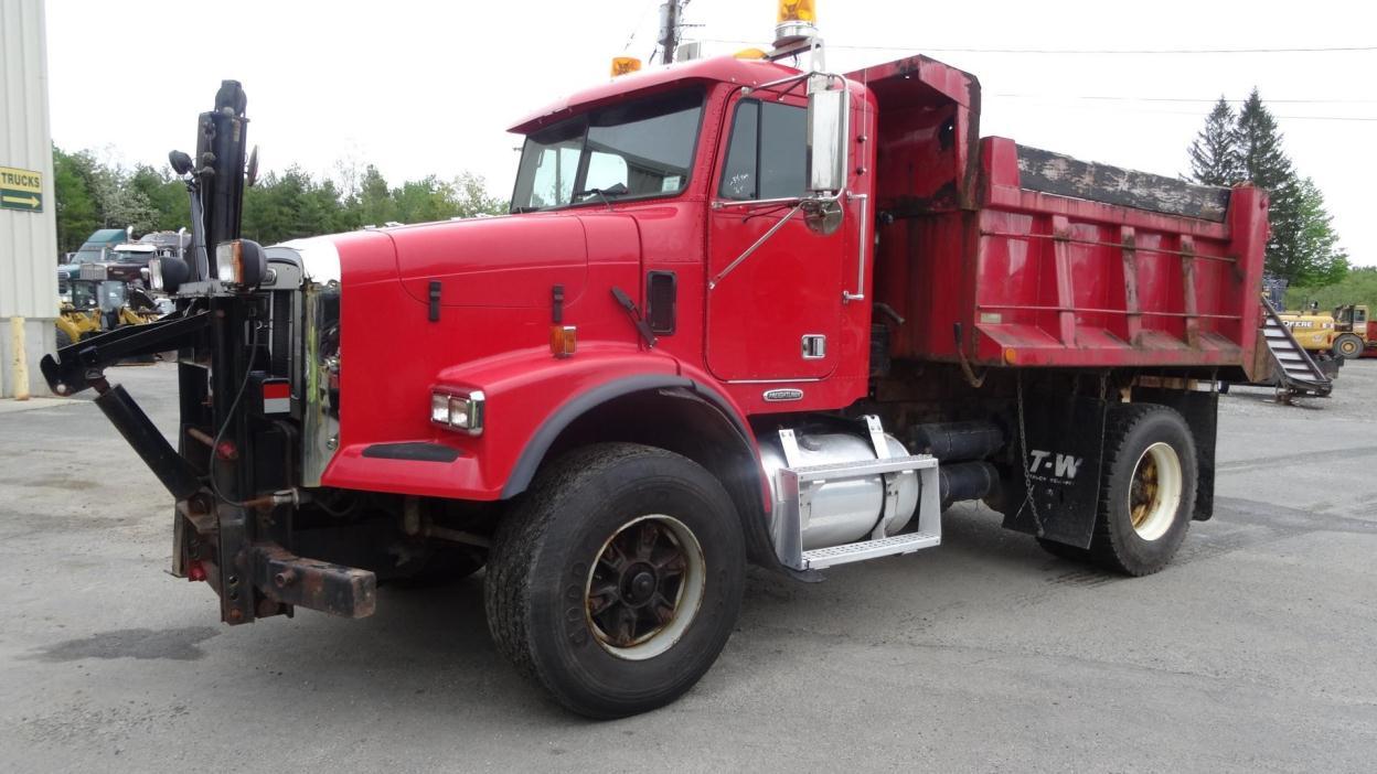 2000 Freightliner Fld112  Plow Truck - Spreader Truck