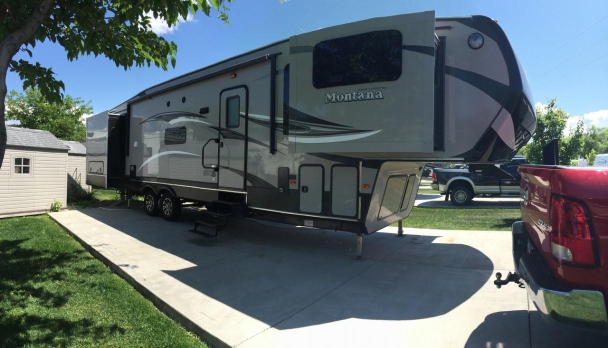 2016 Keystone Montana High Country