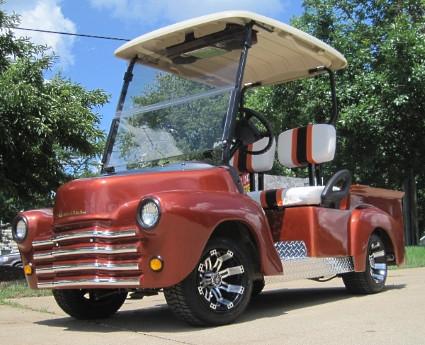 2012 E-Z-Go 47' Old Truck Custom EZ-GO Gas Golf Cart
