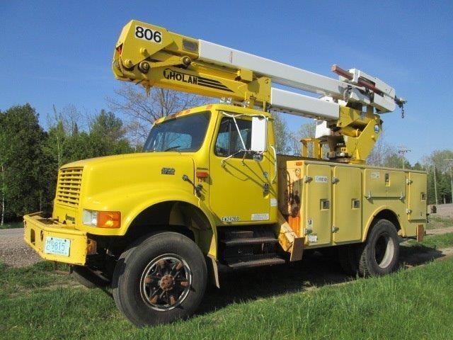 bucket truck for sale in wisconsin. Black Bedroom Furniture Sets. Home Design Ideas