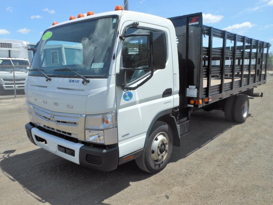 2012 Mitsubishi Fuso Fe180  Stake Bed