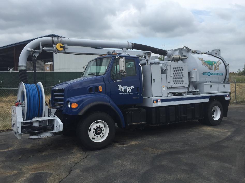 2001 Vac-Con Combination Machines Sewer Trucks