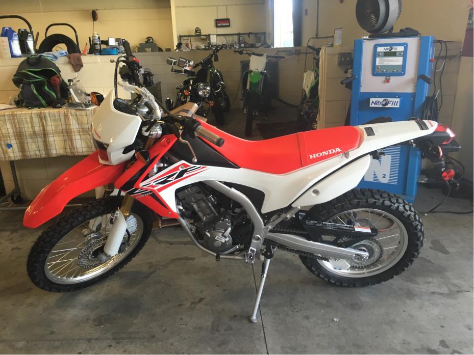 Honda crf250l motorcycles for sale in lakeland florida for Honda dealership lakeland