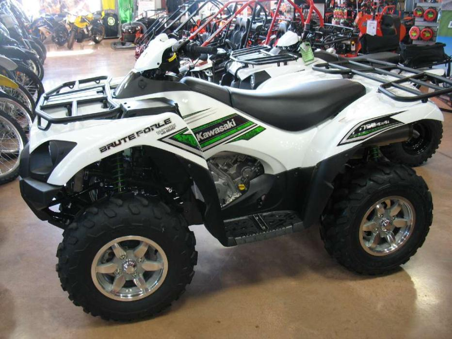 kawasaki brute force 750 4x4i eps white motorcycles for sale