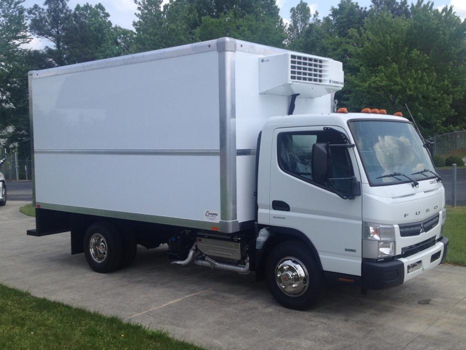 2015 Mitsubishi Fuso Fe130 Cabover Truck - COE