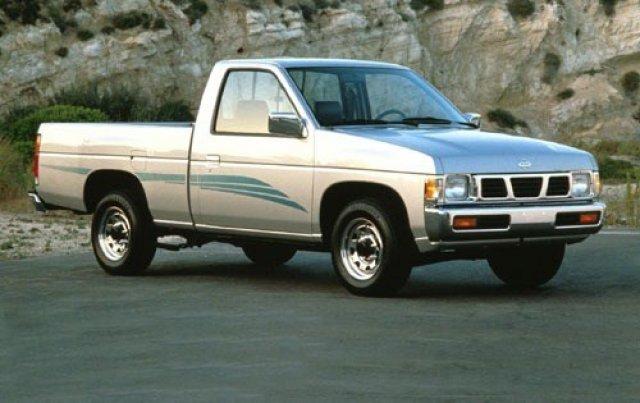 1995 Nissan 4x2 Truck Xe 2.4l Pickup Truck