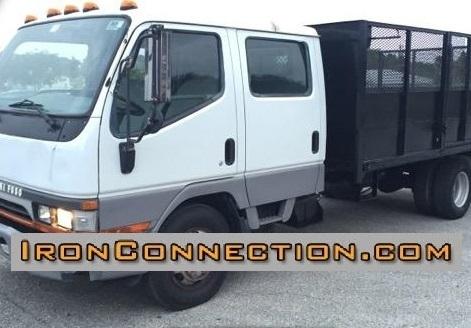 2002 Mitsubishi Fuso Fe640 Dump Truck