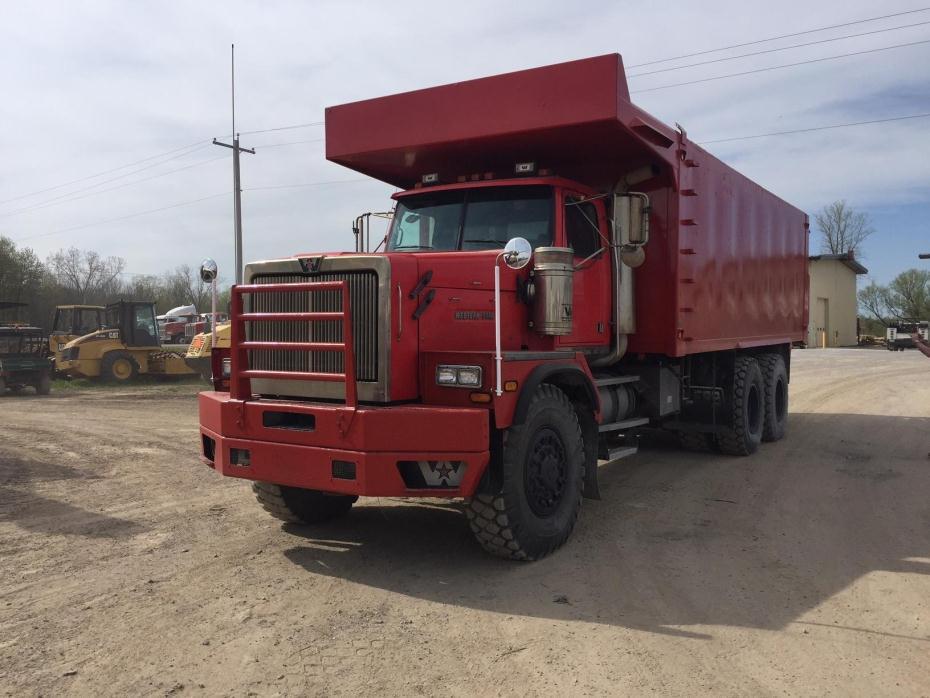 2009 Western Star 6900xd Dump Truck