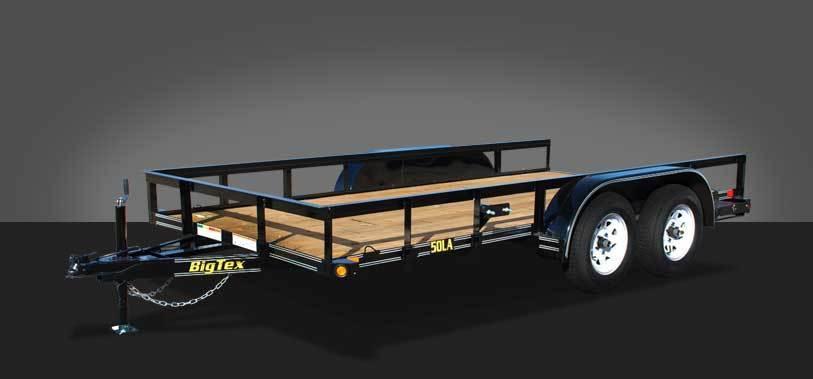 2015 Big Tex Tandem Axle Angle Iron Utility