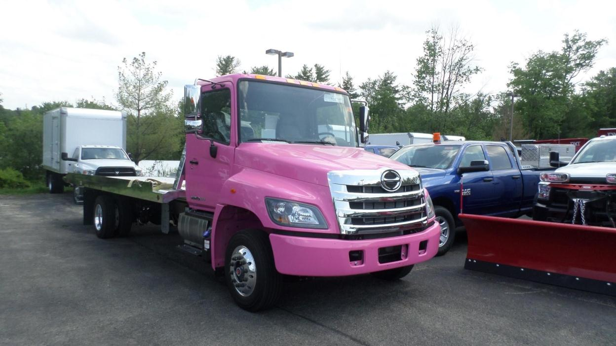 2017 Hino 258alp  Rollback Tow Truck