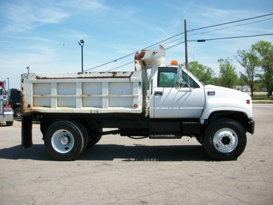 2000 Gmc Topkick C8500 Dump Truck