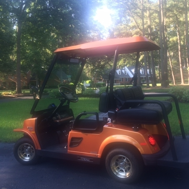 2010 Street Legal Golf Cart E-MERGE 500