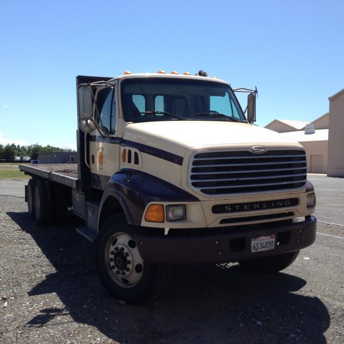 2002 Sterling Acterra 8500 Flatbed Truck