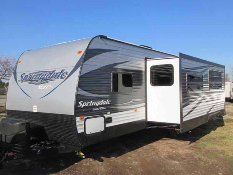 Springdale Keystone Travel Trailer W Slide Out
