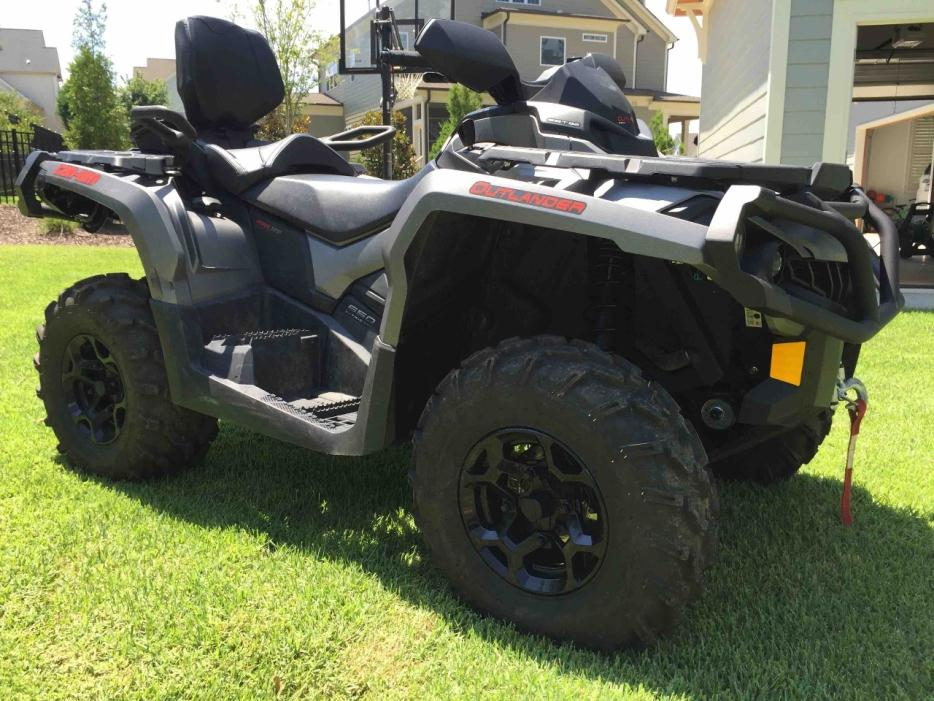 2015 Can-Am Outlander Max XT 650