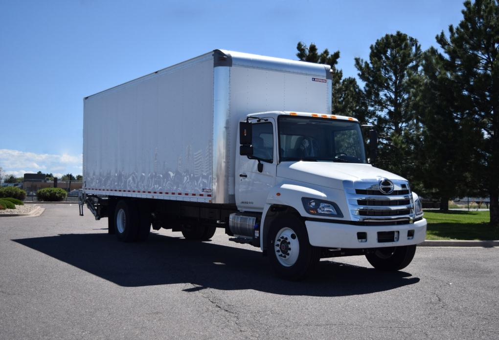2017 Hino 268a Box Truck - Straight Truck