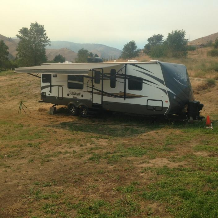 2015 Forest River Wildcat 28RKS