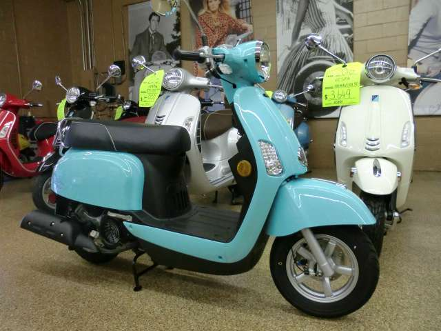 2016 Genuine Scooter Company Buddy Kick - Turquoise