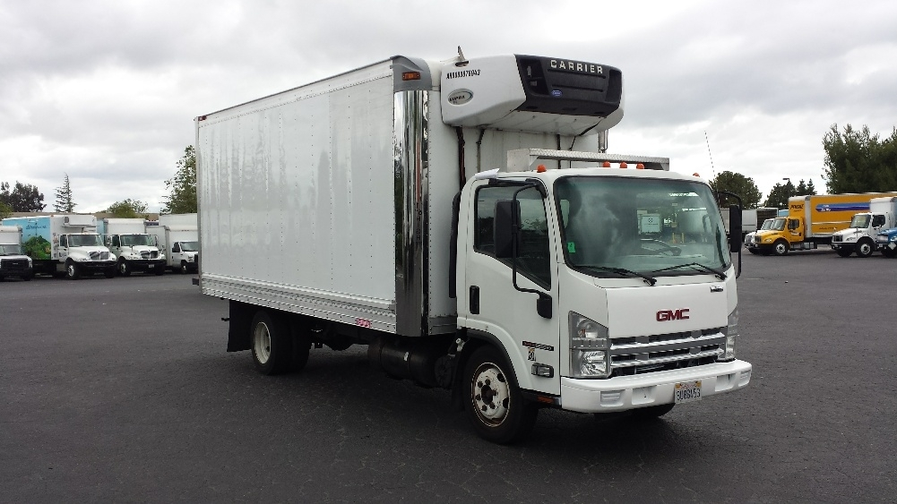2009 Gmc W5500hd Refrigerated Truck