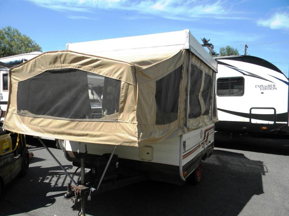 1985 Sk&er Sk&er 114C Pup Up Tent Trailer Fridge Sleeps 6 : tent fridge - memphite.com