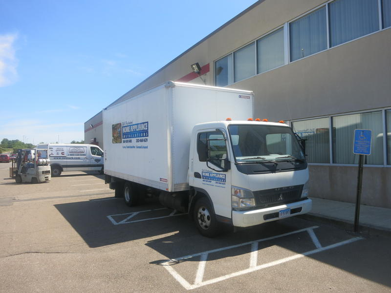 2008 Mitsubishi Fuso Fe83d Box Truck - Straight Truck