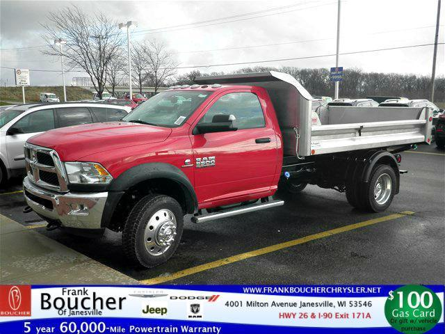 2016 Ram 5500 Chassis  Contractor Truck